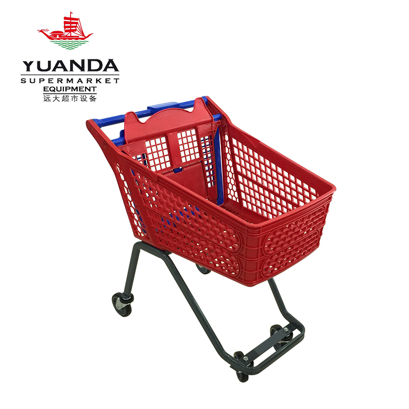 120 plastic shopping trolley